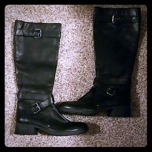 Womans Franco Sarto Leather Boots 8 1/2